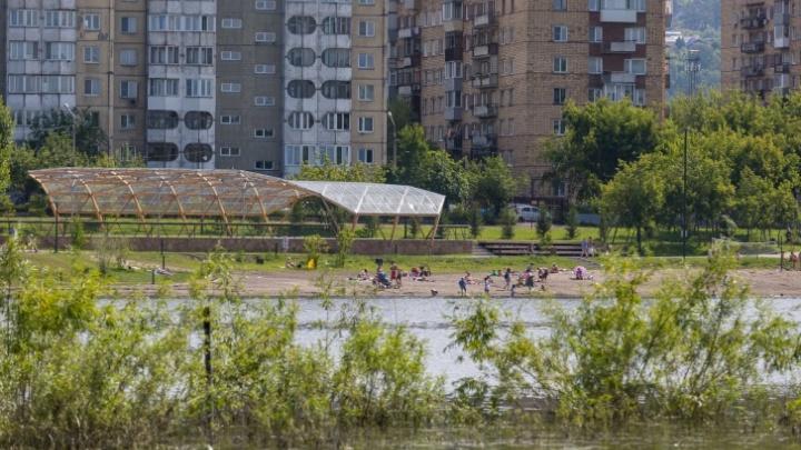 Красноярцев ожидают жаркие и безветренные выходные