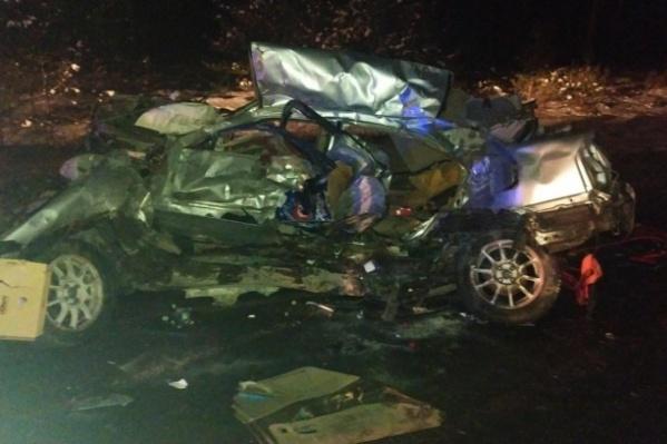 Страшная авария произошла на 102-м километре трассы Тюмень — Омск