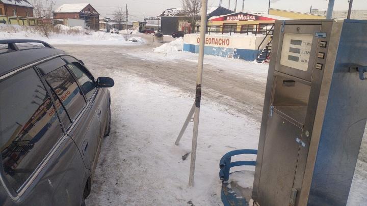 Плюс 2 рубля за февраль: красноярские автолюбители заметили рост цен на газ
