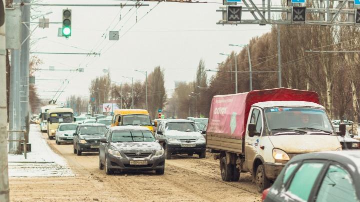 На Московском шоссе отремонтируют трамвайные переезды