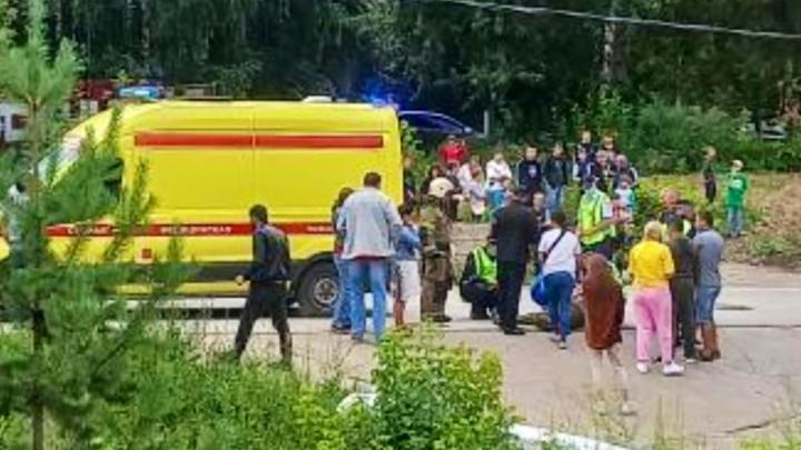 На Гайве четырехлетняя девочка погибла под колесами иномарки