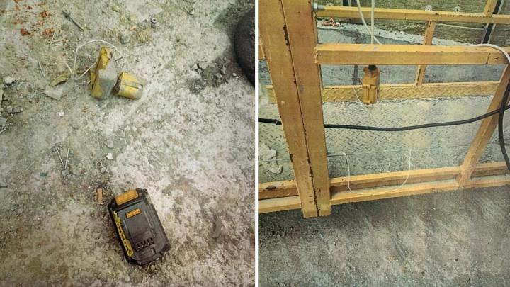 Следователи возбудили дело о смерти рабочего, на которого с высоты 30-го этажа упал клепальник