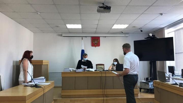 Юристы мэрии Уфы и ПСК-6 устроили пикировку в суде из-за стройки на Руставели