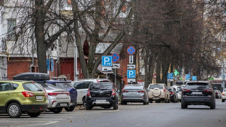 Будут парковочные зоны. Нижегородские власти рассказали, где смогут ставить машины владельцы резидентных разрешений