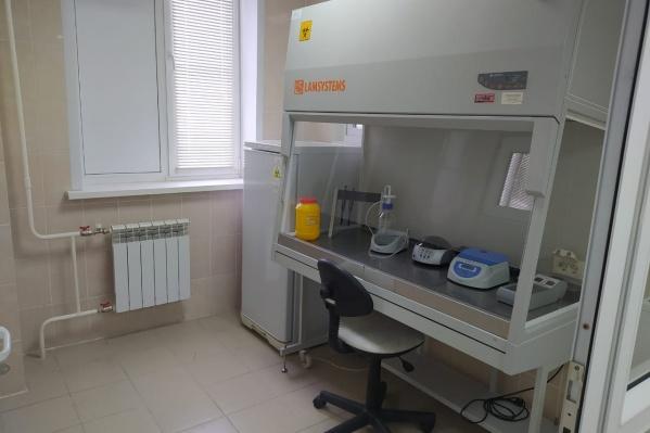 Это первая в Свердловской области ПЦР-лаборатория для медицинской организации