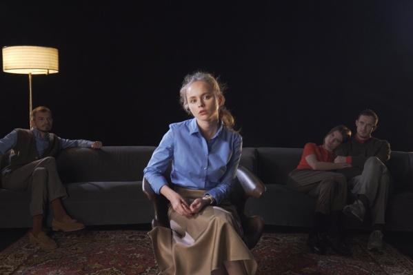 Ксения Отинова сыграла Сандру