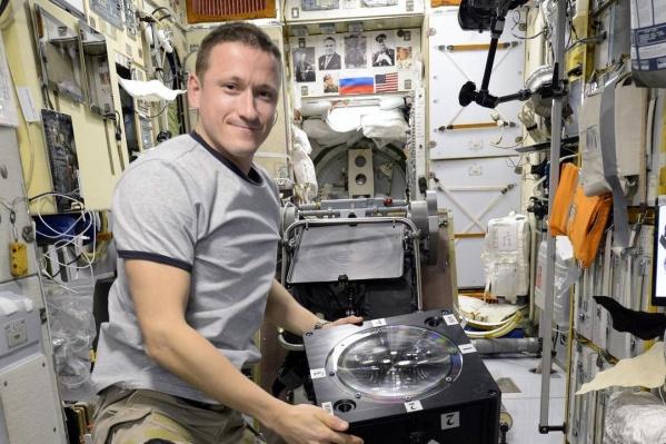 Сергей Кудь-Сверчков встретил 2021 год на МКС