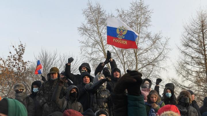 Недовольство властью и пандемия: почему акция в поддержку Навального собрала так много участников