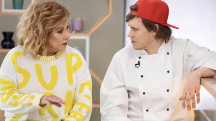 Марина Федункив стала ведущей кулинарного шоу, где жены управляют мужьями на кухне