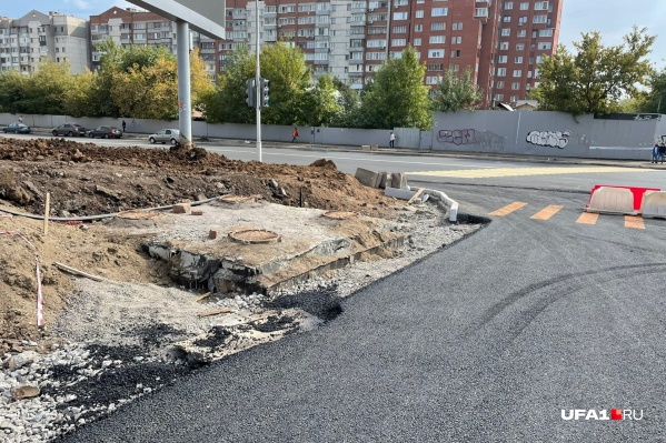 Местные жители возмутились недоделанной работой