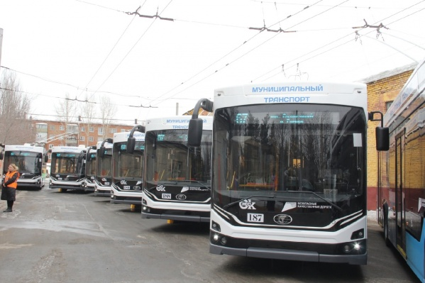 Троллейбусы «Адмирал» будут перевозить омичей по четырем маршрутам