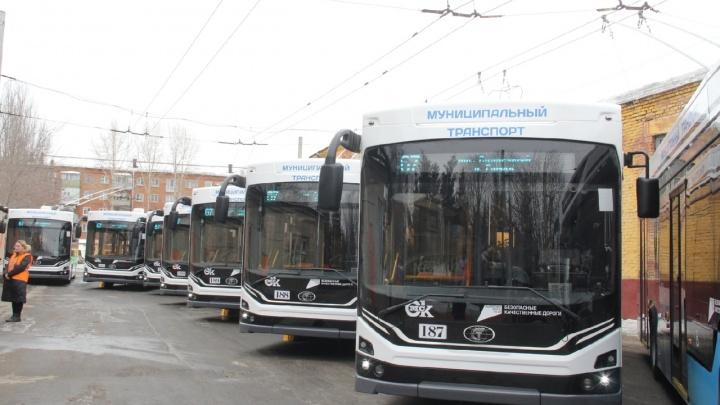 Троллейбусный маршрут № 15 станет магистральным вначалеапреля