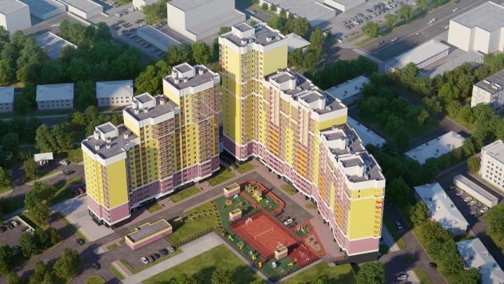 Город развивается: к концу следующего года на ВИЗе достроят квартал с романтичным названием