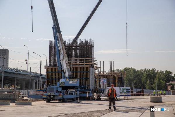 Ожидается, что по новому мосту будут проезжать почти 70 тысяч автомобилей