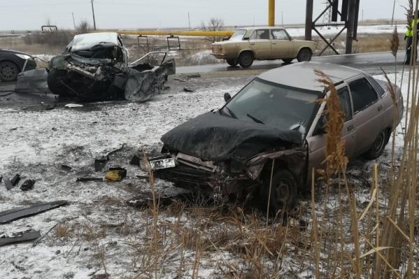 Предполагаемый виновник аварии умер в больнице