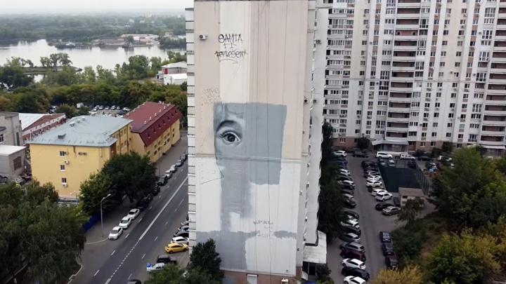 В Самарской области 15 домов украсят огромными росписями
