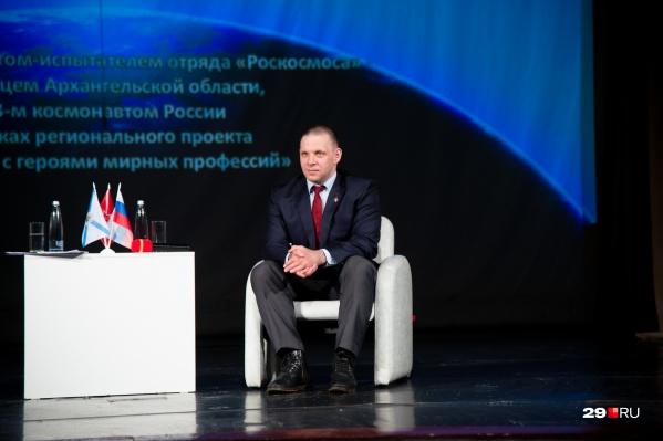 Вопрос про будущее в освоении Марса Ивану Вагнеру задавали и школьники на встрече в Архангельске<br>