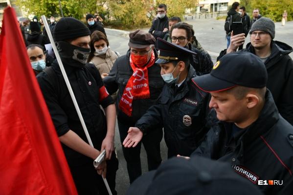 В Екатеринбурге задержали политических активистов