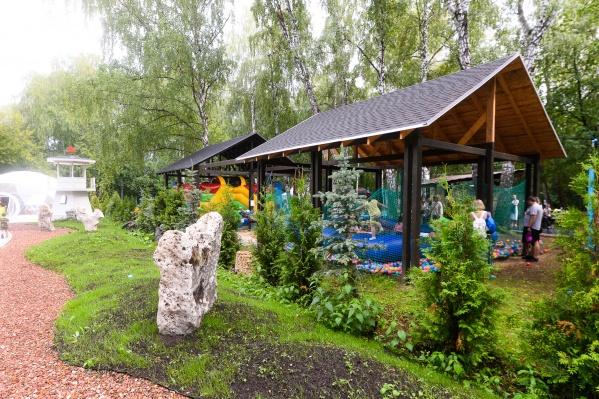 База отдыха «Мыс Рундук» открылась недавно, но уральцы ее уже полюбили
