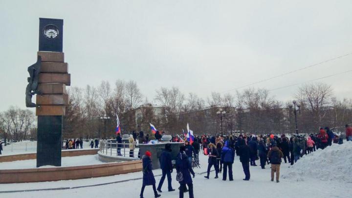 Мэрия отказала штабу Навального в Красноярске в проведении акции в защиту политика