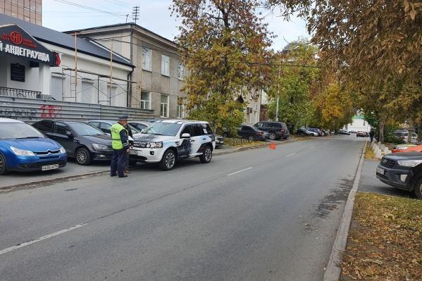 Водитель утверждает, что пытался затормозить, но избежать аварии не удалось