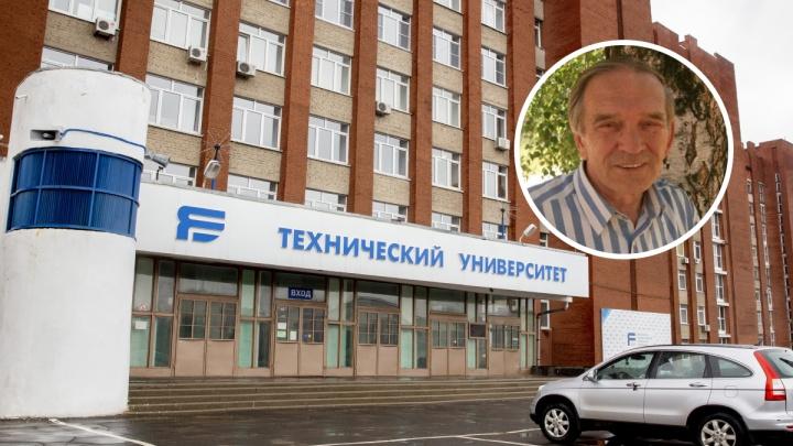 Накануне вел лекцию: в Ярославле умер профессор технического университета