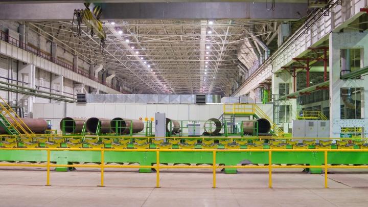На ЧТПЗ установили новое газоочистное оборудование