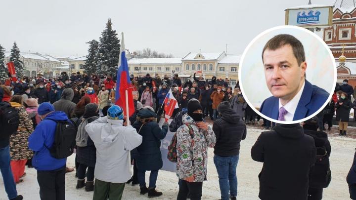 «Двери престижных вузов будут закрыты»: мэр Ярославля рассказал о последствиях участия в незаконных митингах