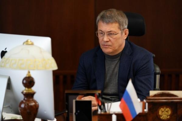 Радий Хабиров отметил, что и он «неидеальный руководитель»