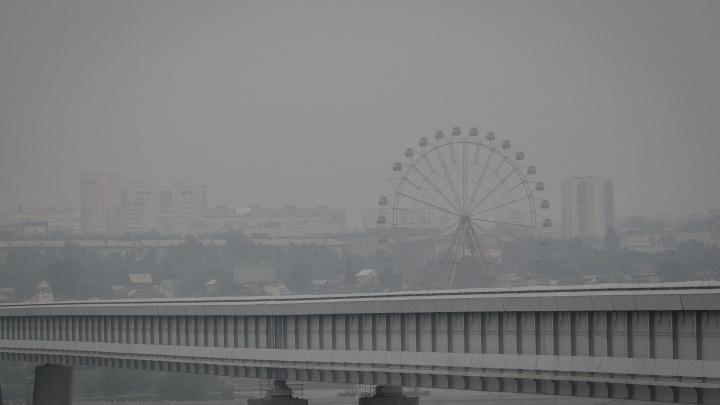 Новосибирцы чувствуют запах гари в городе — действительно ли качество воздуха испортилось?
