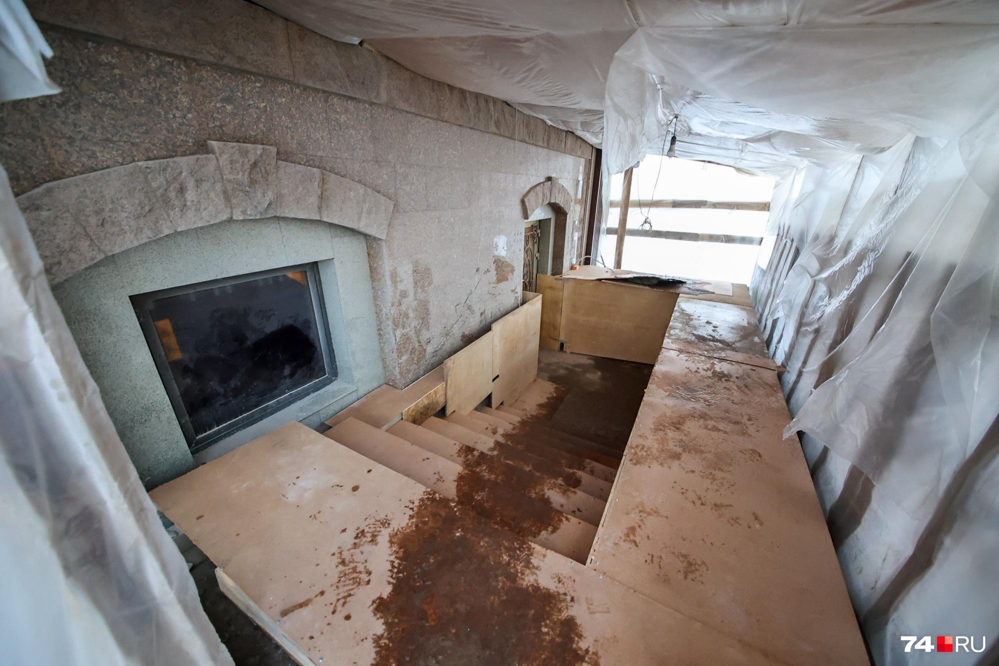 В заведении идет ремонт, но владельцы пока ищут арендатора