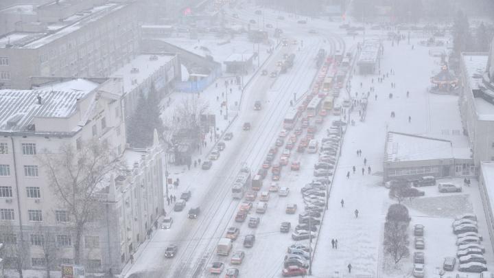 МЧС разослало предупреждение о сильном ветре и снегопадах