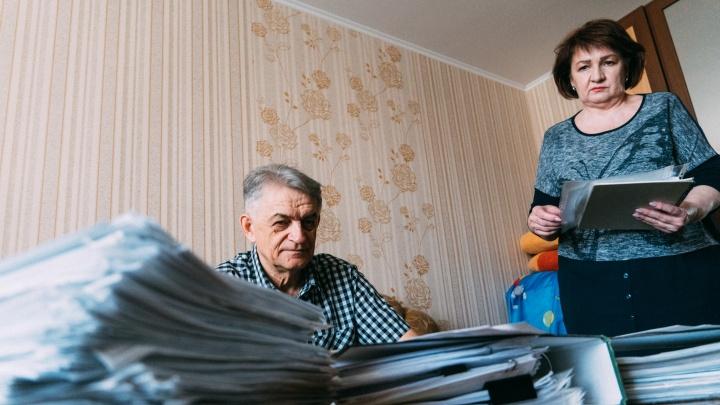 В Омске коллекторы отобрали у семьи единственную квартиру. Их заподозрили в махинациях с жильем