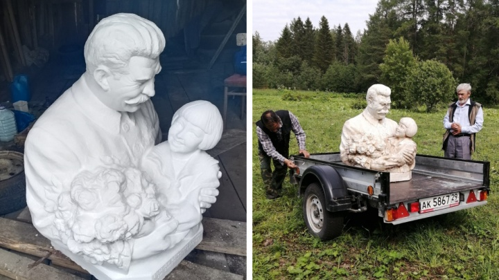 «С ребенком на руках»: жителей Каргополя спросили, нужен ли памятник Сталину в новом парке