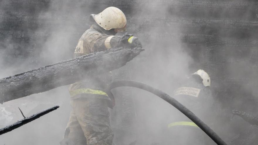 В Перми на пожаре погибли женщина и ребенок. Возбуждено уголовное дело