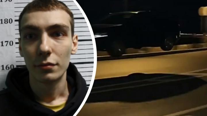 Устроившего трюк в стиле GTA «шкодовода» из Красноярска отправили в СИЗО