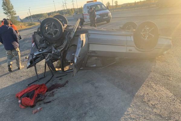Авария произошла на трассе М-5