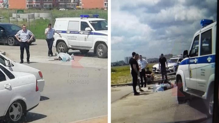 В Краснодаре очевидцы сообщили о стрельбе и погибшем