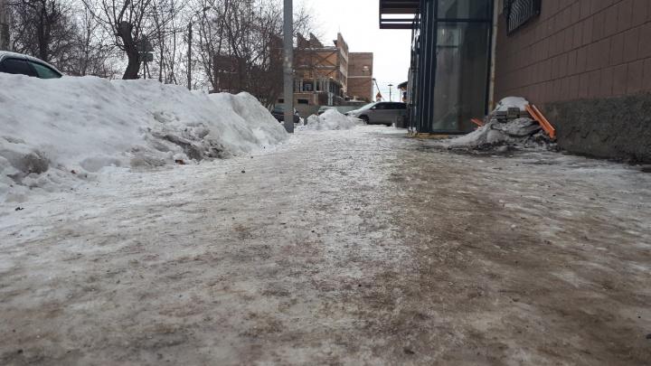 Из-за ледяного дождя в скорую за час обратились 35 омичей с травмами
