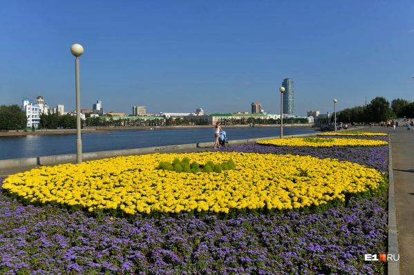 Город готовятся украшать к лету