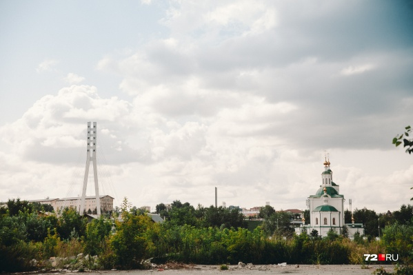 Заречная Тюмень — самое интересное место для строителей Тюмени: здесь огромные территории стоят рядом с центром
