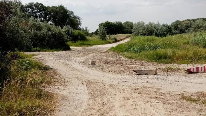 Штрафовать некого: в Волгоградской области не нашли тех, кто засыпал строительным мусором русло Тишанки