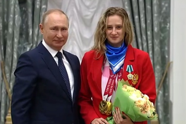 Валерию Шабалину Владимир Путин чествовал в Кремле
