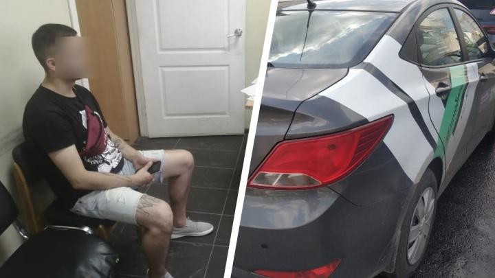 В Екатеринбурге мужчина на каршеринговом авто сбил велосипедиста и с горя напился. Пострадавший в реанимации