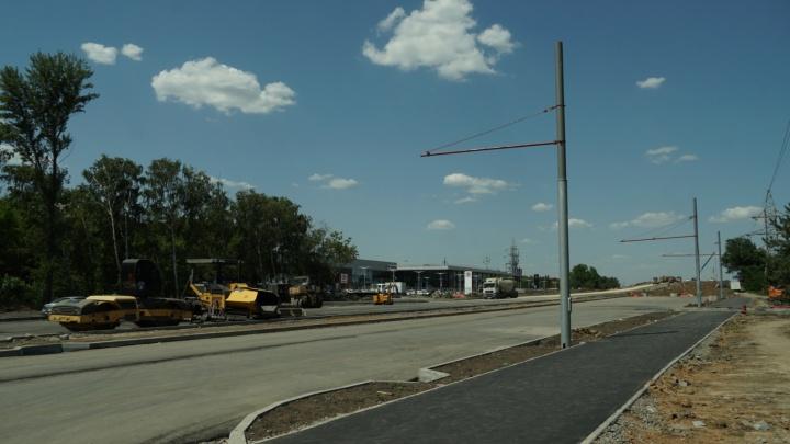 Через мост на Малиновского проложат троллейбусный маршрут