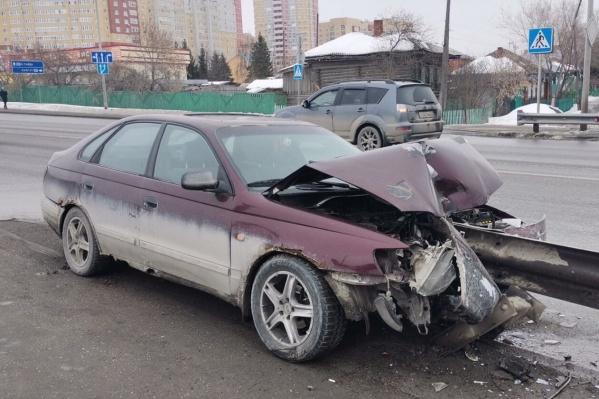 Эту машину местные жители сняли сегодня днем