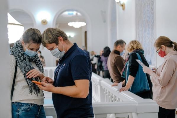 Красноярцы соскучились по культурному отдыху