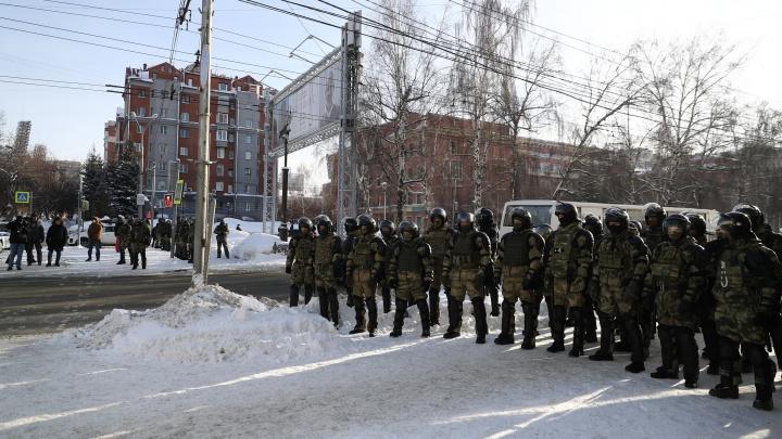 В Росгвардии объяснили набор силовиков в Новосибирске для работы в Москве