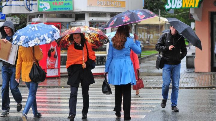 В выходные на Урал придут дожди, грозы и сильный ветер