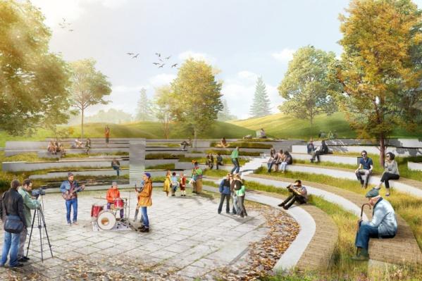 В Академическом появится новое общественное пространство